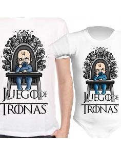 Pack Juego de Tronas. Camiseta + Body de bebé