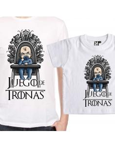 Pack Juego de Tronas: Camiseta + Camiseta de bebé