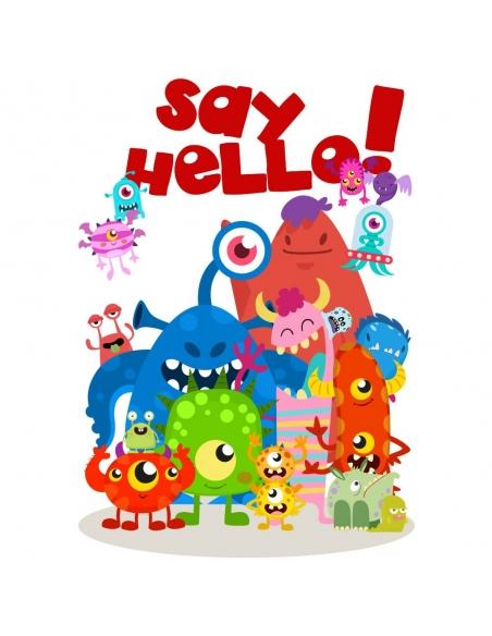 Say Hello Monster