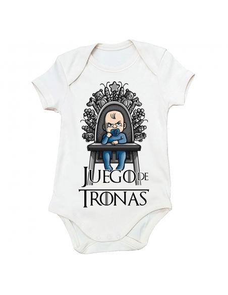 Pack Juego de Tronas: 2 Camisetas + Body de bebé