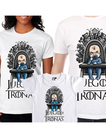 Family Pack Juego de Tronas: 2 Camisetas + Camiseta de bebé