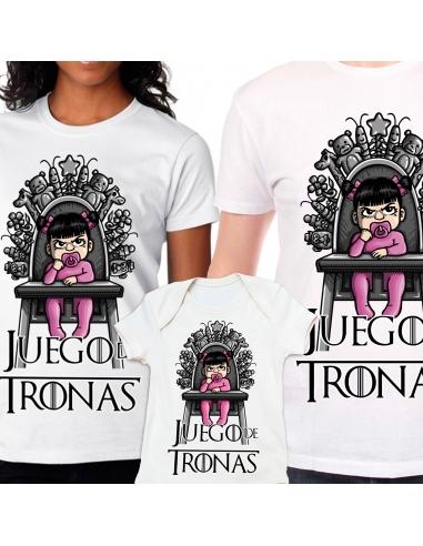 Family Pack Juego de Tronas: 2 Camisetas + Body de bebé
