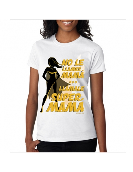 Pack Super Mamá: Camiseta + Body de bebé