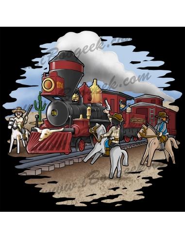 Asalto al tren de Playmobil