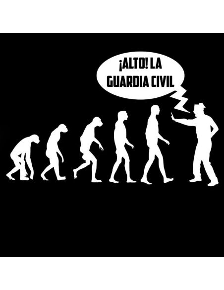 ¡Alto! La Guardia Civil