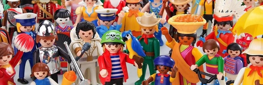 Camisetas de Playmobil