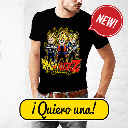 Camiseta Dragon Ball Z Playmobil