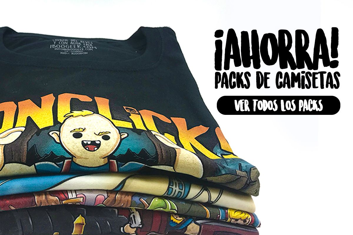 Packs de Camisetas Playmobil